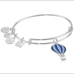 NWT Blue Alex and Ani Hot Air Balloon Bracelet